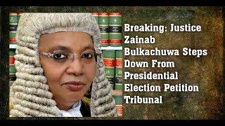 BREAKING: Justice Zainab Bulkachuwa Steps Down; Okorocha Buhari Statue; Ministers To Handover
