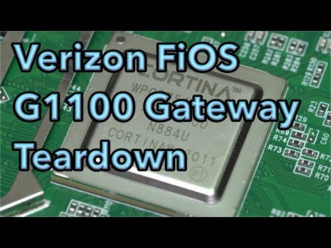 Verizon FiOS G1100 Quantum Gateway Teardown