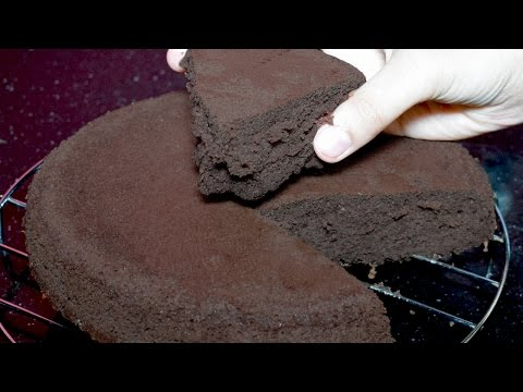 Chocolate Sponge Cake Recipe - Without Oven Cake Recipe - Chocolate Cake Recipe