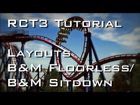 RCT3 Tutorial - Layouts - B&M Floorless/B&M Sitdown