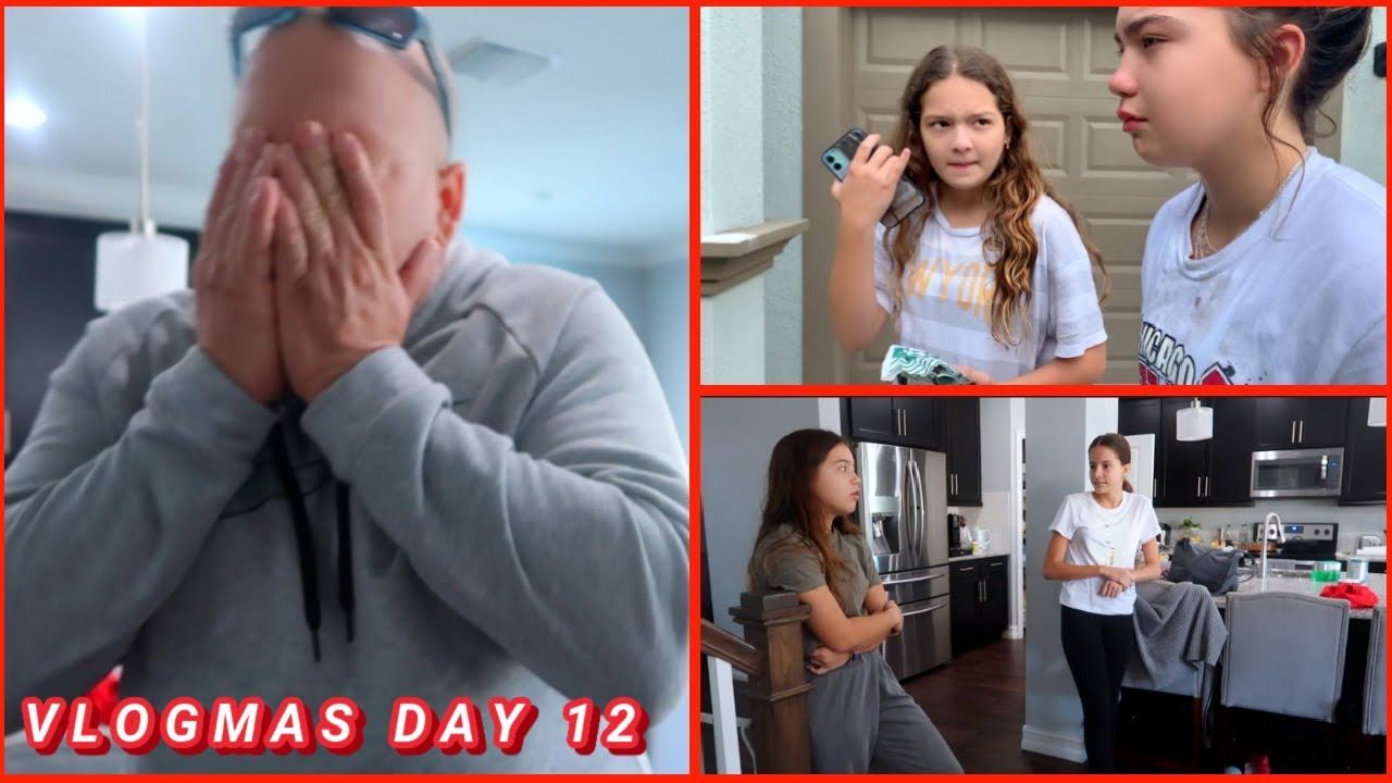 ALISSON HAD AN ACCIDENT AND SHE IS GROUNDED|   VLOGMAS DAY 12