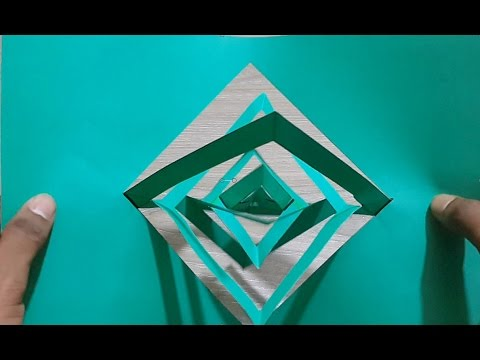 How To Make Amazing paper Spinning - Creative paper hack