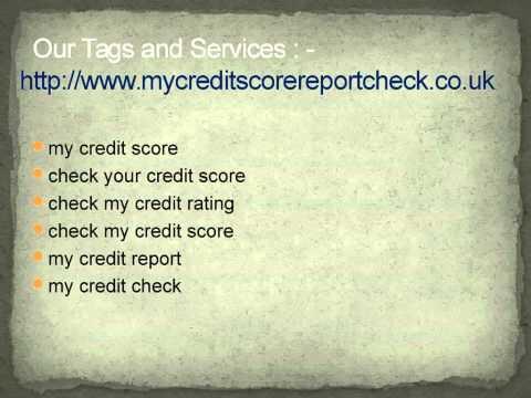 My credit score rating : http://www.mycreditscorereportcheck.co.uk