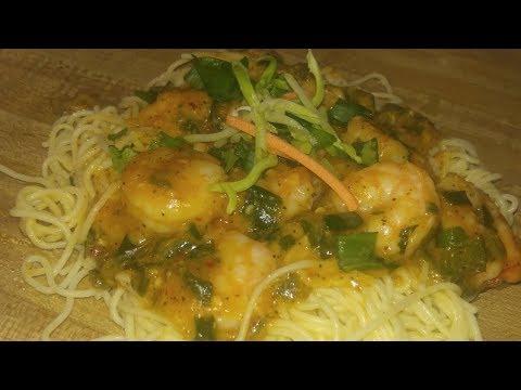 IN keke's kitchen #57 Creamy Shrimp Scampi