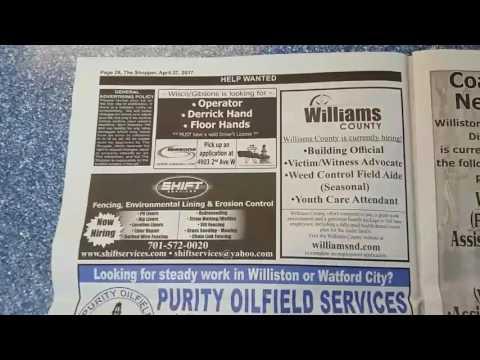 North Dakota Oilfield Jobs