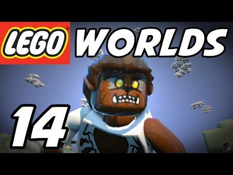 LEGO Worlds - E14 - WEREWOLF Minifig!  (Gameplay Playthrough 1080p60)