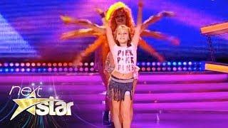 Ela Ţau a făcut senzaţie prin mişcările sale de dans, pe scena de la Next Star