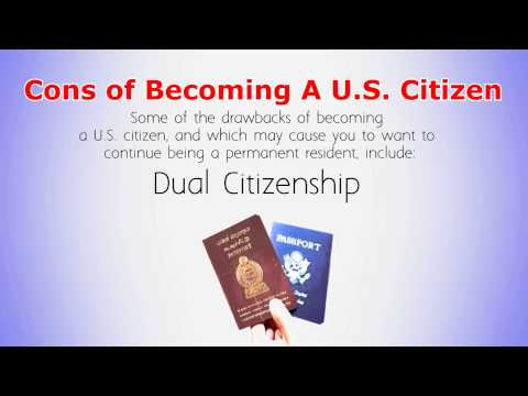 The Pros and Cons Of Becoming a Citizen Vs Remaining A Permanent Resident
