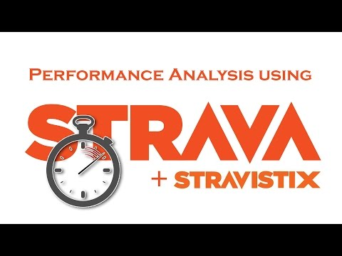 Performance Analysis for Cyclists using Strava and Stravistix (eg Power, Heart Rate, FTP)