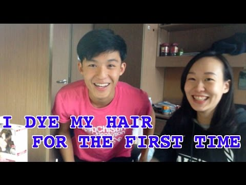 I DYE MY HAIR FOR THE FIRST TIME | Virgin Black Hair to Natural Light Brown ( DIY )