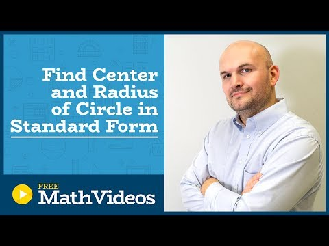 Master how to determine the center and radius given the equation of a circle