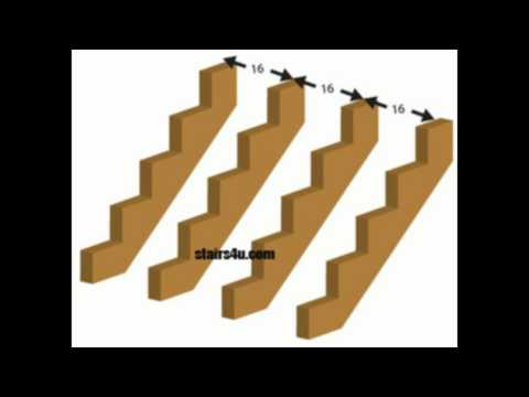 How Many Stair Stringers Do I Need for My Staircase - 3/4 Inch Plywood