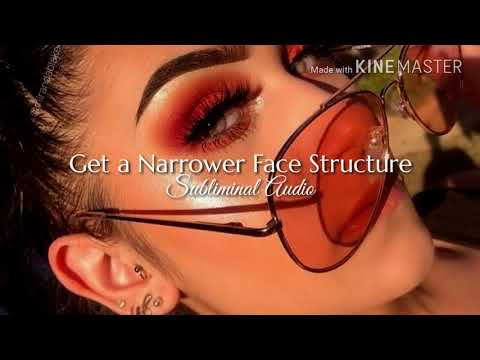 Get a Narrower Face Structure || Subliminal Audio ||