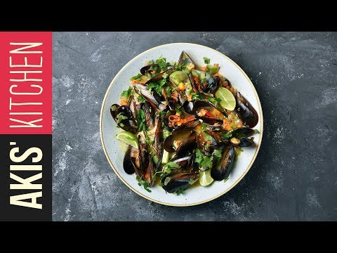 Steamed mussels | Akis Kitchen