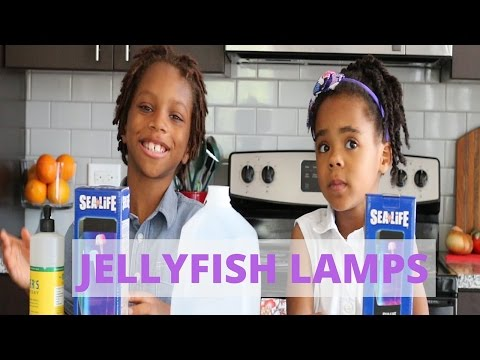 Jellyfish Aquarium Lamp Unboxing