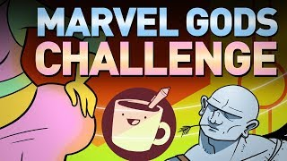 Artists Draw Mythical Marvel Characters (That They
