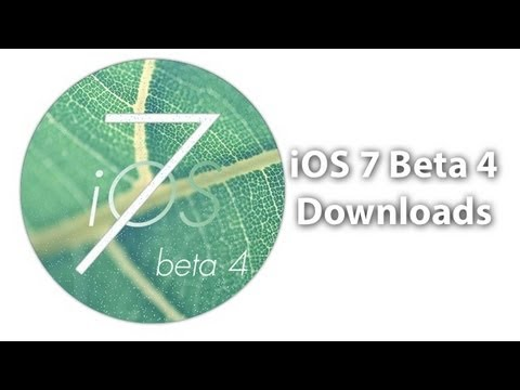 iOS 7 Beta 4 Direct Download Links - Free Non Developer Links