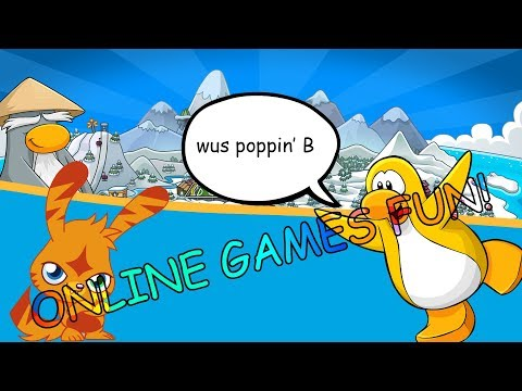 CLUB PENGUIN MADNESS!   Crappy Online Games