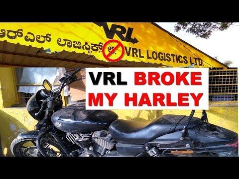 VRL Damaged my Harley Davidson  - HORRIBLE Experience