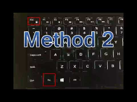 How to disable Hotkeys | How to enable function keys