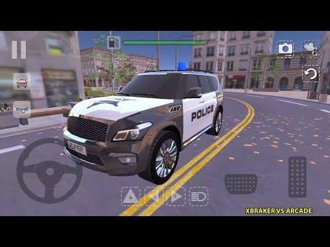 Offroad Car QX Sheriff Police Car Android Gameplay