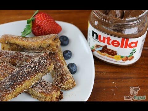 RECIPE: Nutella Stuffed French Toast Rolls