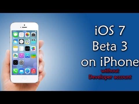iOS 7 Beta 3 on iPhone 4