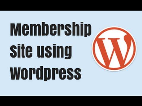 How to Create a Wordpress Membership Site - Best Wordpress Membership Plugin