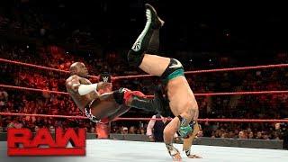 Kalisto vs. Apollo Crews: Raw, June 12, 2017