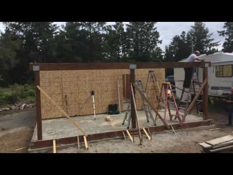 Speed Framing - How to Build a House Really Fast.