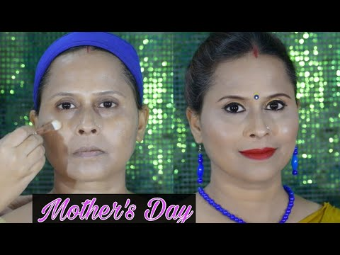 DOING MY MOM'S MAKEUP || MOTHERS DAY SPECIAL || KOLKATA , INDIA