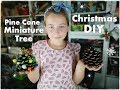 Download  🌲🌲🌲 Diy Pine Cone Miniature Christmas Tree For Kids ❀ Emily's Small World ❀ MP3,3GP,MP4
