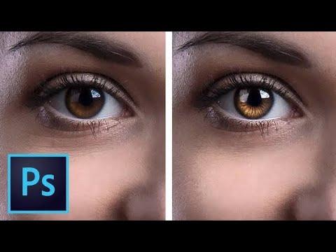 How to Change Eye Color in Photoshop CC, CS6, CS5, CS3