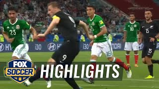 Chris Wood gives New Zealand the lead vs. Mexico | 2017 FIFA Confederations Cup Highlights