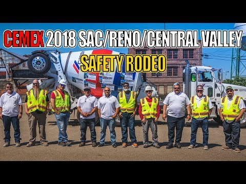 Cemex 2018 - Sac/Reno/Central Valley Region - Safety Rodeo