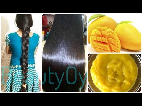 How to grow hair fast with Mango