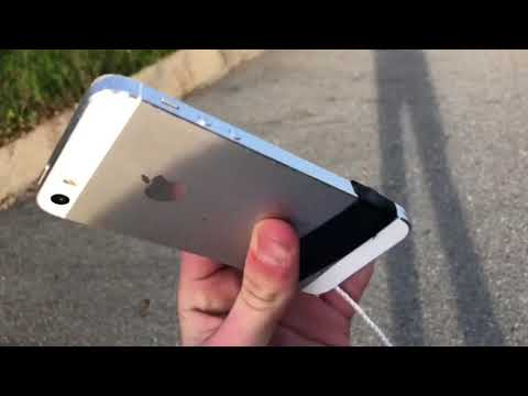 IPHONE 5S EXTREME DROP TEST FROM 520 FEET!