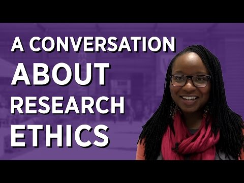 A Conversation About Research Ethics