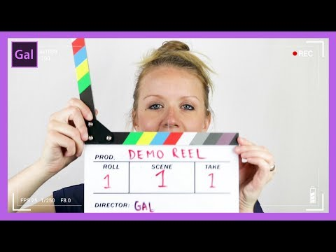 How To Make a Killer Video DEMO REEL Job Interview TIPS