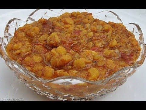 Pressure-cooker Chana Dal Curry Recipe   Spicy Indian Lentil Stew   Foodomania #18