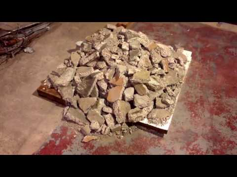 Part 2 of the steps an how to remove a cement sink from basement. Winsted MN