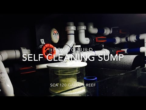 How to build a SELF CLEANING SUMP for your Reef Tank!!!