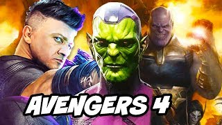 Download Avengers 4 Endgame Why Hawkeye Becomes Ronin and Thor Teaser Explained Video
