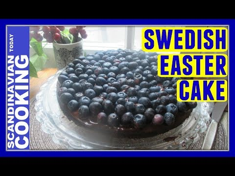 Swedish Chocolate Almond Cake Recipe for Easter