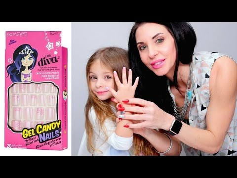 Broadway Little Diva Nails - Demo and Review