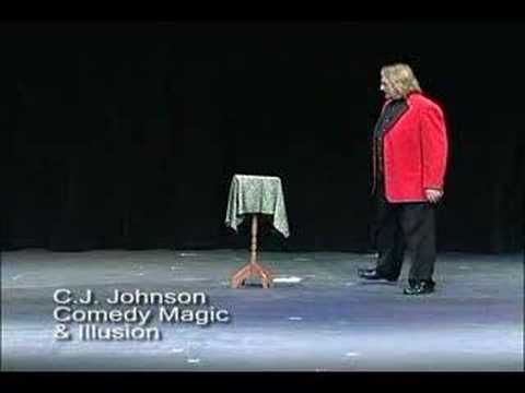 Floating Table Magic Effect performed by CJ Johnson