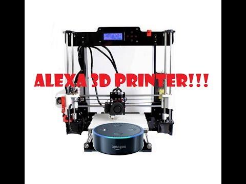 Alexa Controlled 3D Printer