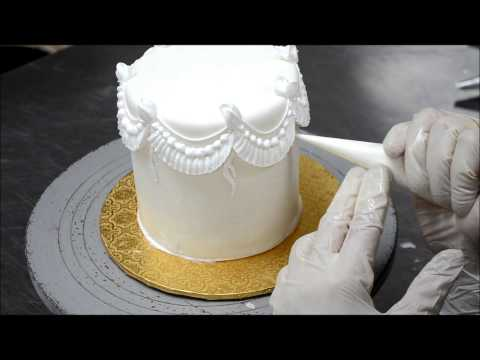 How to Decorate a Cake  |  Cake Tutorial Video  |  Piping on cake