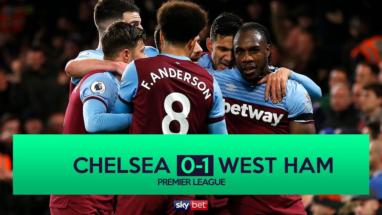Chelsea 0-1 West Ham | Blues Dealt HUGE Blow In Top 4 Race!