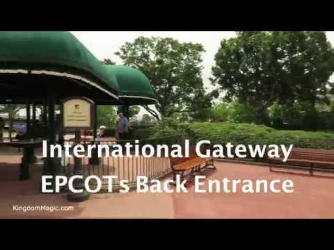 Beach Club Walk To EPCOT International Gateway